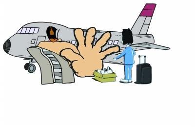 民航严禁11种乘坐飞机行为 武汉一周内拘两名乘客