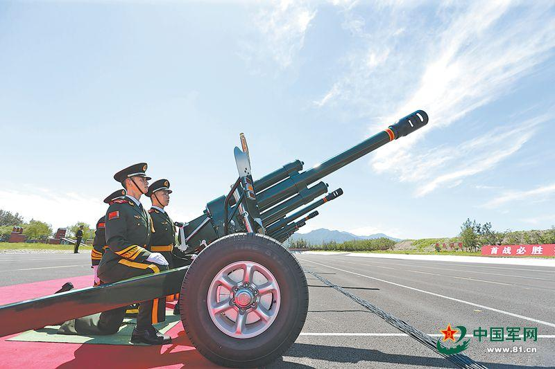 阅兵当天将鸣放礼炮70响 为历次庆典最多一次