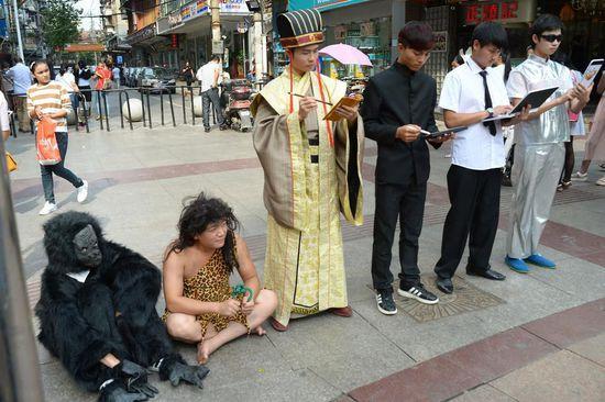 武汉六名女子玩
