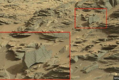 UFO教授宣称,相片中的火星空中显现出宏大的蝎子外形,揣测火星上该当有性命存在。