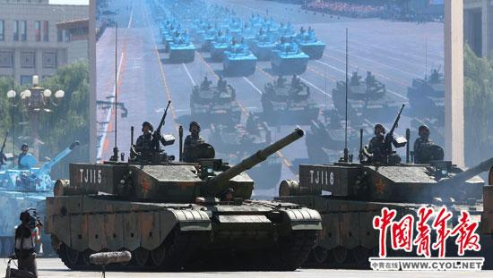 September 3 parade equips the highlight Chinese military weapons and information of a large jump (map) on 3