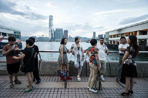 内地游客打伤香港导游