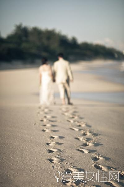 自由浪漫海岛婚礼 会拍照才能做sunshine新娘!