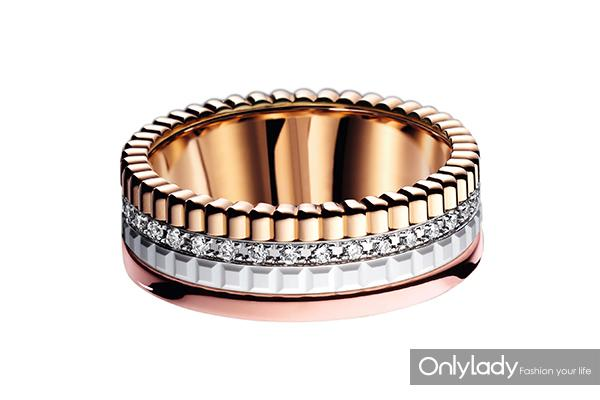 图二:Boucheron宝诗龙Quatre-White戒指镶钻款