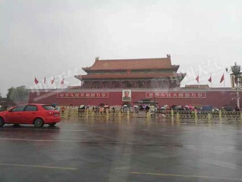 北京将迎持续降雪 周末局地暴雪