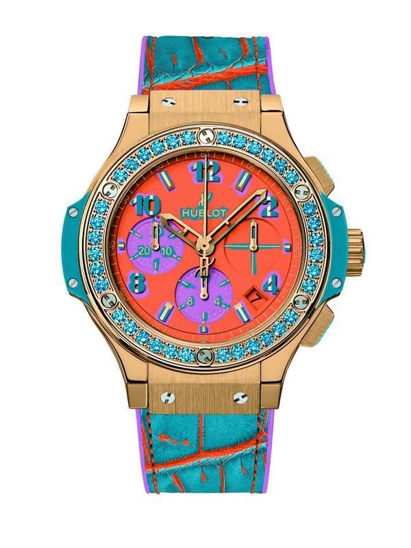 绚丽圣诞新风气 宇舶表波普艺术手表