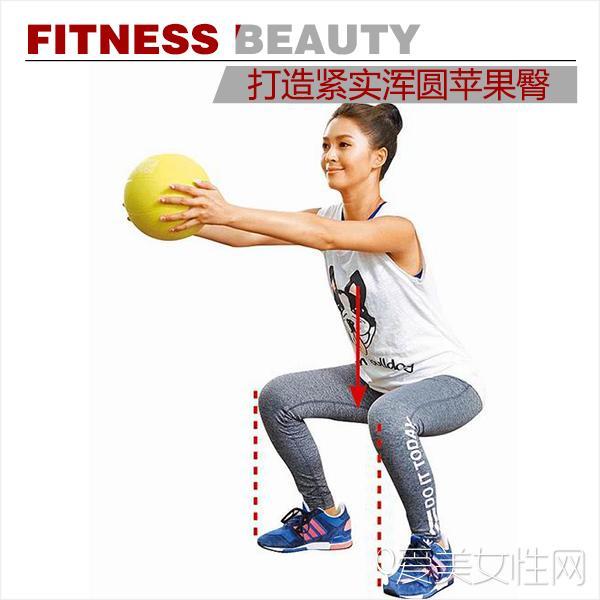 韩国女星都在疯狂练!翘挺苹果臀最提女人味