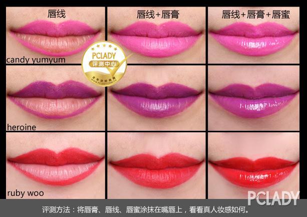个性十足诱惑美唇 M.A.C完美唇线系列评测