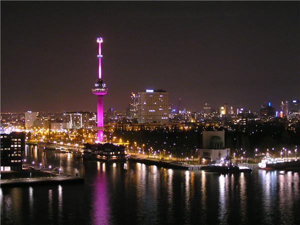 鹿特丹 欧洲塔