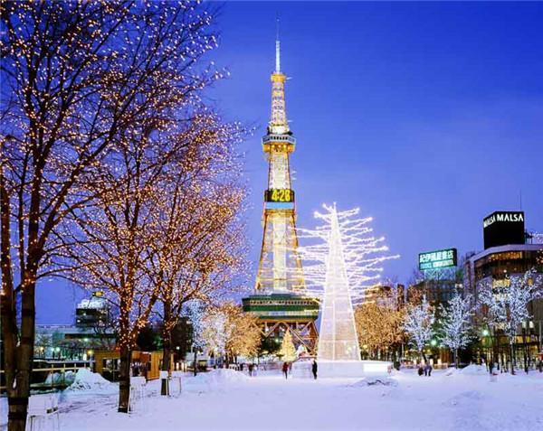 札幌北海道冬季圣誕