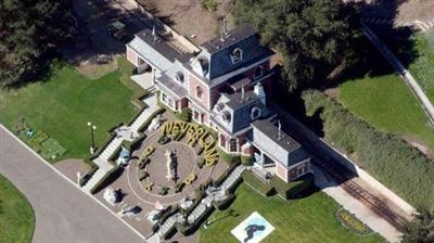 已故巨星迈克尔·杰克逊 豪宅叫卖超6亿人民币