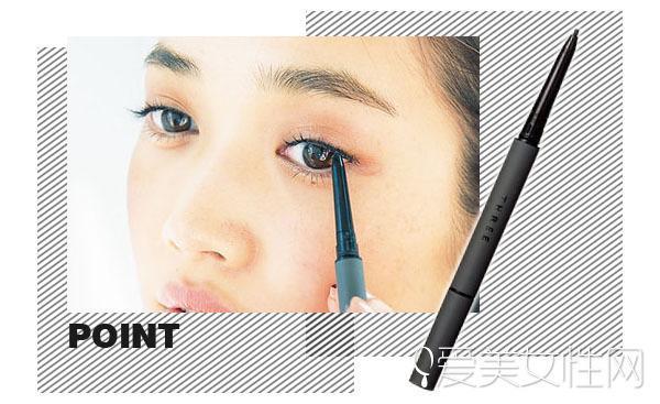 彩色睫毛膏加入眼妆套餐 如何画好?