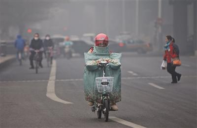 北京单站PM2.5浓度近千 重污染明日结束
