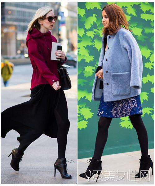 外套+裤子这样穿 抗冻耐寒还显瘦!