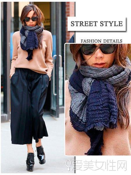 围巾的各种围法_如何围围巾