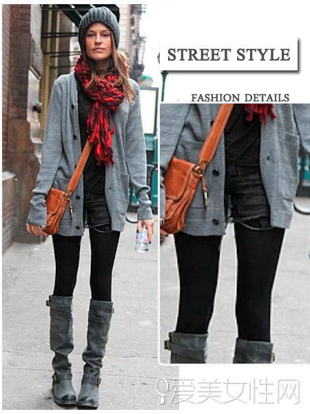 靴�+�L靴 冬季里最和煦的美腿神器