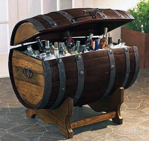 16个完美创意,让旧橡木桶大放异彩