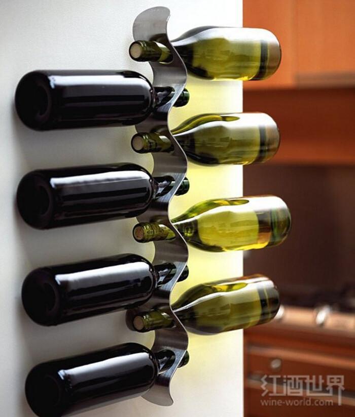 酒架DIY:美观又实用,赶快买酒填进去!