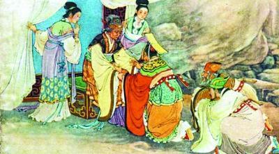 春秋时武姜生郑庄公难产对其厌恶 助其弟谋反