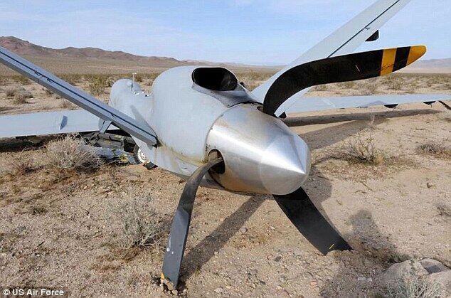 美军危机:近15年超400架大型无人机坠毁(组图)