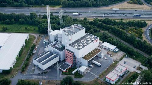 位于漢諾威的一家EEW垃圾焚燒廠。(圖片來源:德國《商報》網站)