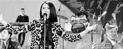 """[热点新闻]谭维维:\""""老腔\""""是最早的中式摇滚 曾恳请大师现身"""