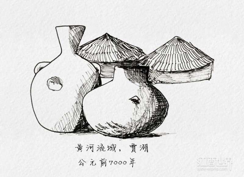 简笔画米饭画法 步骤