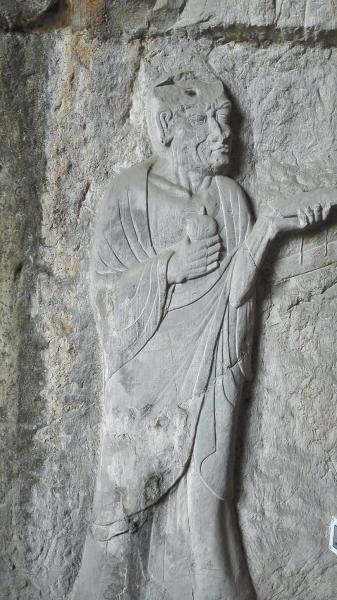 洛阳看经寺29尊唐朝石刻罗汉像于3月10日起敞开