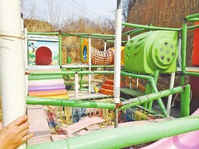 郑州蝴蝶谷体育公园投资千万荒废一年无人管