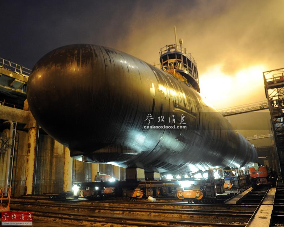 美媒:中国潜艇数量将是美近2倍 美追上需几十年