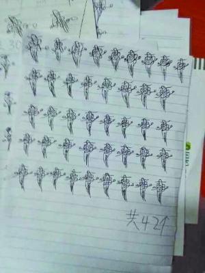"""贵州一高校4女生寝室打麻将 被罚画百只""""."""