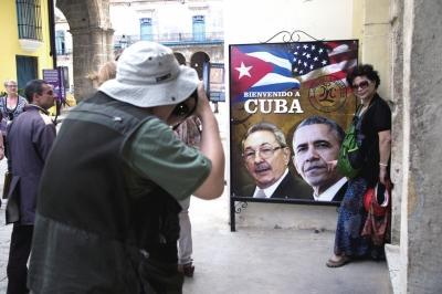 奥巴马历史性访问古巴 不与菲德尔·卡斯特罗会面