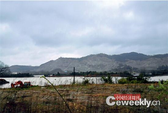 p72-2 湖南小墨山核电站规划选址所在地,如今该地处于保护中。