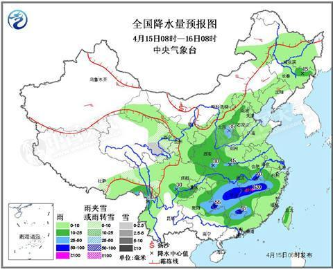 南边强降雨叕叒双又来 朔方喜迎春雨