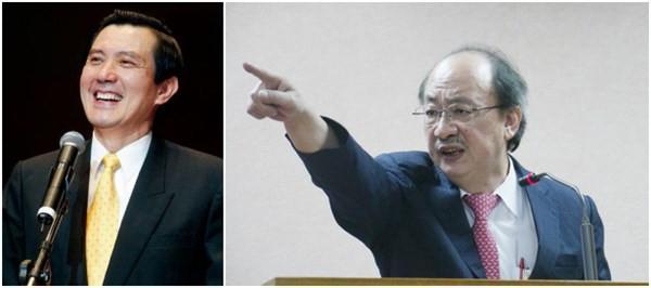 柯建铭自诉马英九泄密罪,昨在台北地院出庭后主张法官应答马英九制约入境。(图像来历:台湾《结合报》)