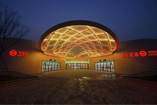 上海地铁迪士尼站下周二开站 末班车最晚22:30