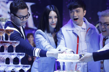 尚雯婕自曝偶像为bigbang 郑淳元调皮玩蛋糕 [有意思]