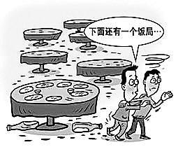 """宴客用饭、寒暄拼酒……""""会餐交际""""风靡大黉舍园"""