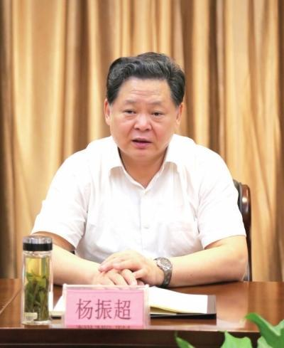 安徽副省长杨振超被查 成该省第3名省级落马官员