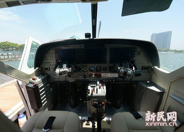 上海金山水上飞机首航事故