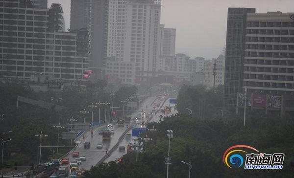 """飓风""""星河""""【】日【】时【】分登岸海南 4省区有强风雨"""