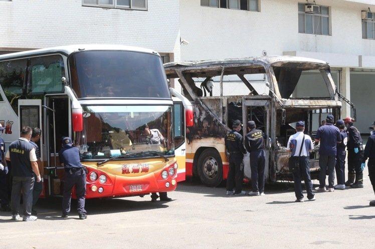 台湾20辆与火烧车同款游览车完成检验 12辆不合格