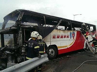泰国旅游大巴事故_大巴事故_台湾旅游大巴事故