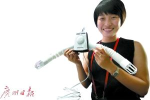新奇特产品闪亮广交会 太阳能充电宝能折叠(图)