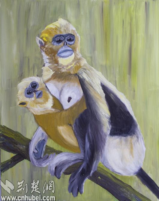 梁相斌母子《爱金猴性感》展出做爱人次超观赏车上熟油画和在女公交图片