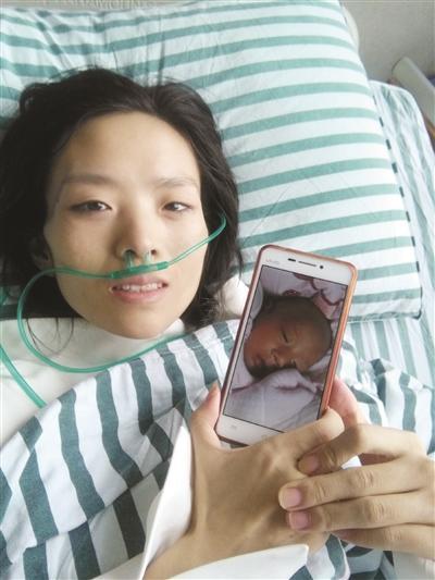 泪奔!26岁癌症妈妈冒死产女 录4段视频令人动容