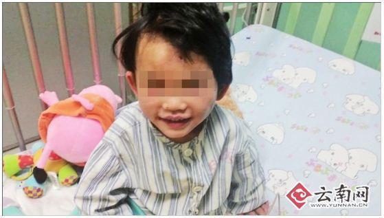 2岁女童被弃宾馆遍体鳞伤 家人仍未露面(图)