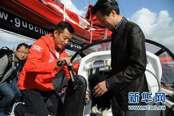 记者眼中的郭川:他是中国航海界的珠峰(图)