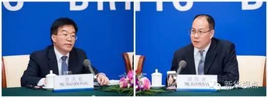 苗庆旺(左)、田培炎(右)