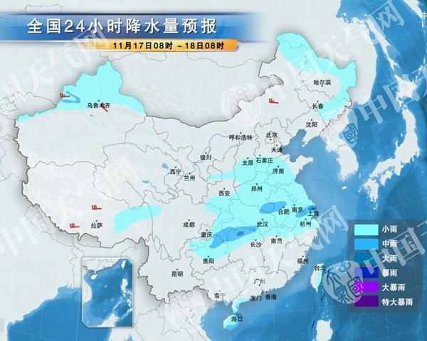 华北黄淮雾霾明日最重 20日强冷空气来袭